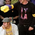 Cheering the Lakers on to NBA titles can cause a rather severe swelling condition, as seen during Game 7 at that old celebrity barn, Staples Center in Los Angeles.