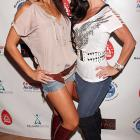 A pair of models upped the stakes at the Marcus Allen 2010 Celebrity Invitational Poker Tournament and Fashion Show in Hollywood on June 13.