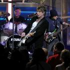 Johnny Rzeznik laid down some hot licks at the NHL Awards show in Las Vegas on June 23. Reports of Commissioner Gary Bettman moshing proved to be unfounded.