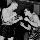 Yankee Stadium played host to the first of three classic ring wars between Graziano and Zale. After trading knockdowns in the first two rounds, Zale retained the world middleweight championship with a sixth-round knockout.