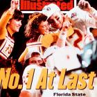 Second-ranked Florida State took an 18-16 lead over the No. 1 Huskers with a field goal by freshman Scott Bentley. The Huskers tried a last-second field goal but the ball sailed wide as Bobby Bowdwn's Seminoles won their first national title.