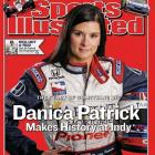 Patrick graced the cover of  Sports Illustrated  her rookie year, just before nabbing fourth at the Indy 500. She would later beat her impressive performance by coming in third at the 2009 Indy 500.