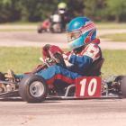 Patrick goes karting in Charlotte in 1997.