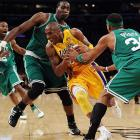 Bryant ran all over Boston defenders to score a game-high 30 points, in addition to seven rebounds and six assists.