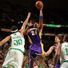 Kobe Bryant did all he could to give the Lakers a two-game cushion in the NBA Finals, but the Celtics fought back to win Game 4 at home, knotting the series at 2-2 with a 96-89 victory Thursday night.