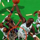Kevin Garnett and the Celtics hammered the Lakers 16-7 on the offensive boards.