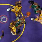 It seems only fitting that such a heated rivalry go to seven games. While history favors the Lakers -- home teams have won 13 of the 16 Game 7s in NBA Finals history -- this series has proved that everything can change after two days rest.