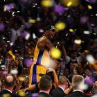 After losing to the Celtics in the 2008 Finals, the Lakers finally got revenge with an 83-79 win for their 16th NBA championship. It was the fifth Lakers-Celtics Game 7 in Finals history, and thought it got off to a sloppy start, it ended in thrilling fashion. Here are some of the best shots from L.A.'s second straight championship.
