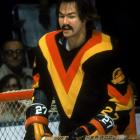 The Canucks defenseman of the '70s looked like a roadie for Motorhead ... or a (young) Burt Reynolds body double, perhaps?