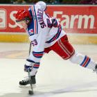 """Central Scouting says:  """"Not overly big (5' 10"""", 187), he makes up for that with his sniping ability. Pure puckhandler with great moves and a great shot, he contributed a 50-goal season for Kitchener and despite the 5'10"""" knock some scouts might have, destined to be an NHLer."""""""