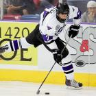 """Central Scouting says:  """"Dominates faceoffs and, in freshman year, is an excellent young prospect, a really good young skater and his ability to dominate a game at his level is truly impressive."""" Final Central Scouting rank: 18"""