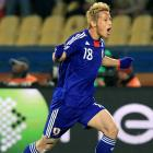 Keisuke Honda continued his stellar World Cup campaign with a goal in the 17th minute, powering Japan to a fast start. Honda tacked on an assist later in the match, giving him a total of two goals and an assist for the tournament.