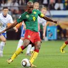 Samuel Eto'o took advantage of a Rafael Van der Vaart yellow card inside the area and confidently converted the resulting penalty kick for Cameroon's first and only goal.
