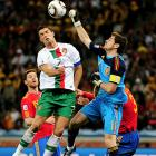 With abundant hoopla surrounding him coming into the tournament, Portugal's Cristiano Ronaldo again failed to deliver on the biggest of stages. He was rendered ineffective for most of the match against Spain, and his only goal of the World Cup came late in a 7-0 rout against North Korea in the group stage.