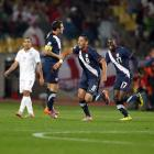 Clint Dempsey of the U.S. celebrates his 40th-minute goal which tied the game 1-1.