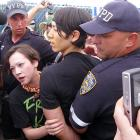 The six-time Nathan's hot dog-eating champ ran afoul of law enforcement when he tried to crash the stage at the contest. (He didn't compete due to a contract dispute.) Kobayashi's buns were hauled off to jail and charged with resisting arrest, obstructing governmental administration and trespassing gas.