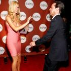 The Hamm-handed actor's attempt to move into Brooklyn seems to have alarmed Ms. Decker, who took defensive action backstage at the ESPY Awards in Los Angeles.