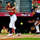 We see the former Mets and Expos backstop is making a comeback. Who wouldn't when the competition is dishes in the Taco Bell All-Star Legends & Celebrity Softball Game at Angel Stadium?