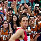 Mr. Nash seems surprised to find he has a rather avid following in Beijing, where teams of American and Chinese stars did battle in the Yao Foundation Charity Tour Game on July 24.