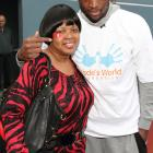 Jolinda and Dwyane Wade attend the ribbon cutting ceremony at the Community Partnership for the Homeless in Miami.