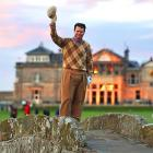 Tom Watson waved farewell to the Old Course at St. Andrews while standing on the Swilcan Bridge. Watson, who was competing in the second round of the British Open, kissed one of the bridge stones then hit his second shot to within a foot of the flag and birdied the hole. The 60-year-old golfer, a five-time British Open champion, missed the cut by two strokes. He has four years left on the exemption he earned for finishing second in last year's Open, but the tournament is not scheduled to return to St. Andrews until at least 2015.