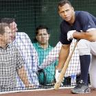 From his familiar seats at Angels Stadium, agent Scott Boras chatted with one of his superstar clients during the 2007 season. Maybe it was about the texture of the dirt. Maybe it was about A-Rod's contract. After the season, Rodriguez would cause controversy by announcing to opt-out of his contract during the World Series.