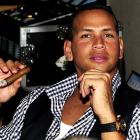 Rodriguez channels his inner Louis Tiant at the David Ortiz Golf Classic in Punta Cana, Dominican Republic reclining with a fine cigar.