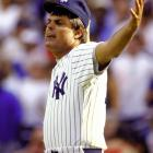 Promoted to Yankees general manager following the 1987 campaign, Piniella couldn't stay out of the dugout for long. He managed the team for 92 games after Billy Martin was fired in his final stint with the team.