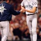 Though Piniella managed some of the most talented teams of the 1990s in his 10 seasons with the Seattle Mariners -- teams that included pitcher Randy Johnson -- he could never get the Mariners over the hump and win a World Series. He did, however, win AL Manager of the Year in 1995.