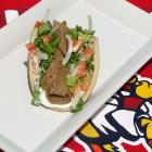The Toledo Mud Hens have a secret weapon when it comes to their stellar food service: wheels. Carts can be found throughout the ball park offering a variety of different confections, like this trifecta (sold separately) of Hummus and Pita, classic Gyro sandwich, and a fried bologna sandwich. Each costs just $5.