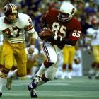 Mel Gray enjoyed his most productive professional season in 1975, catching 11 touchdowns for the St. Louis Cardinals and being named first-team All Pro on an 11-3 team.