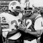 Talk about a breakfast of champions: O.J. (Simpson) and Joe (Namath) got together here at Shea Stadium. (Send comments to siwriters@simail.com)