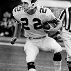 Roger Wehrli was named first-team All Pro after pulling down six interceptions for St. Louis. Wehrli finished his 14-year Hall of Fame career with 40 interceptions and 19 fumble recoveries.
