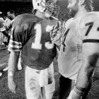 Third-year quarterback Dan Marino was too much for Buddy Ryan's vaunted 46 defense in a Monday Night Football game that set ratings records. The Dolphins defeated the Bears 38-24, keeping the undefeated 1972 Miami team as the only one with a perfect regular season. The Bears finished the year 15-1.
