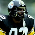 Stallworth finished his Hall of Fame career with the Pittsburgh Steelers two years later, in 1987, with 8,723 receiving yards, and 63 TD catches. The four-time Pro Bowl receiver is shown here on the sideline during a 24-20 loss to the Miami Dolphins in '85. Stallworth was held to four catches for 41 yards and did not find the end zone.