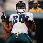 """An eminent presence because of his ferocious hits, Brian Dawkins commandeered the Philadelphia secondary for 13 seasons and helped establish one of the most intimidating pass defenses in the NFL. A nine-time Pro Bowl selection, Dawkins was the first player to record a sack, an interception, a fumble recovery and a touchdown reception in the same game when he did it against Houston in 2002. Known by his alter-ego """"Wolverine,"""" the passionate Dawkins signed a one-day contract on April 28, 2012, to retire with the Eagles after three seasons with Denver. The Eagles may still want him back. The Eagles were the third-ranked pass defense in 2008 before Dawkins' departure, after he left, they dipped to 17th in 2009. Philadelphia has ranked no higher than 10th in the category since 2009."""