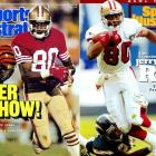 After stints with Oakland and Seattle, the legendary 49ers receiver came back to the franchise for a one-day, $1,985,806.49 contract in August 2006. The sum was ceremonial, representing Rice's first year in the league (1985), uniform number (80), the current year ('06) and the 49ers (49).