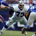 Known for being one of the most dominant offensive linemen in his time in the NFL, Allen played with the Cowboys from 1994 to 2005 and was selected to 10 consecutive Pro Bowls. His sign-and-retire was held in August 2008.