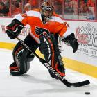 """The Flyers' eternal search for a reliable, championship-caliber goaltender led them to sign seven-year veteran and 2010 Vezina-finalist Ilya Bryzgalov to a long-term deal in June 2011. """"When you get a goalie you view as an upper-echelon goalie,"""" Flyers GM Paul Holmgren told the media, """"you know you have to pay him."""" The front-loaded contract paid Bryzgalov $10 million during his first season in Philadelphia, a campaign marked by struggle, inconsistency, self-doubt and a certain amount of charming eccentricty (as viewers of HBO's  24/7 Road to the Winter Classic  series can attest). In the playoffs, the Flyers upset the heavily-favored Penguins in the first round, but still came up short in their quest for the chalice. Holmgren sent his star netminder home for the summer with the suggestion that he sharpen his focus."""