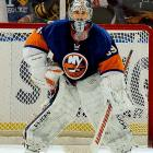 It's not so much the annual average as the length of contract that made this deal so absurd. Though the Isles' highly-touted No. 1 overall pick of 2000 had yet to reach his potential, he turned the deal into an albatross by developing hip and knee problems that have required surgery, limited his playing time, and put his career in doubt.
