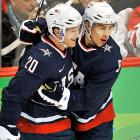 The Wild landed not one but both of the NHL's top prizes in free agency,  defenseman Ryan Suter signing forward Zach Parise and.  Drafted 17th overall by New Jersey in 2003, Parise produced 194 goals and 216 assists in 503 career games, scoring 30-plus goals five times. Suter spent all seven of his NHL seasons with the Nashville Predators after being selected with the seventh pick in the 2005 draft. The All-Star defenseman reached a career-highs in points in 2011-12, with 7 goals and 39 assists.  The breakdown of the contracts is exactly the same, with both players getting $12 million in each of their first two years. The deals then go down in value, with each making $1 million in both 2023-24 and 2024-25.