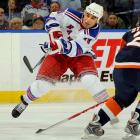 The Rangers broke the bank for this free agent center who was a big name only in relation to that year's relatively modest crop. He struggled on Broadway for two seasons before being traded to Montreal in June 2009.  (See: Free Agent Busts link below)