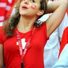 Female Fans of the World Cup
