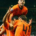 Dutch playmaker Wesley Sneijder is arguably the world's most in-form midfielder. He won the Champions League at club level with Inter back in May and is tied with Villa with 5 goals in this tournament.