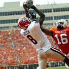 A semifinalist for the Biletnikoff Award in 2009, Green was second in the SEC in catches (5.3) and receiving yards (80.8) per game as a sophomore and had a total of 53 catches for 808 yards and six touchdowns.