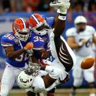 The hard hitter was second on the Gators in tackles (70) despite being 5-foot-9 and 189 pounds, and had eight tackles and his first sack in the SEC title game.