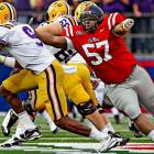 The 320-pound nosetackle helped the Rebels lead the SEC in tackles-for-loss average, with 7.38.