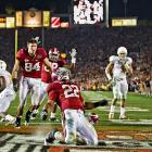 The Heisman Trophy winner as a sophomore and offensive MVP of the BCS title game (after a 116-yard, two touchdown performance), Ingram also was a receiving threat with 32 receptions for 334 yards and three scores in 2009.