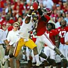 The future pro held star receivers Julio Jones of Alabama and A.J. Green of Georgia to a combined seven catches and was third in the SEC in passes defended, with 15.