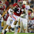 Richardson rushed for 751 yards as a freshman, averaging 5.2 yards a carry as Ingram's backup. He racked up eight TDs and delivered a breakout performance in the BCS title game with 109 yards on 19 carries.